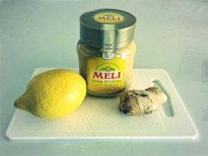 Kruidenthee met gember, citroen en honing